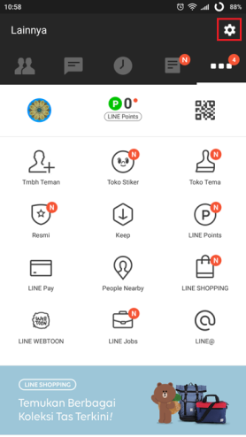 10 line settings