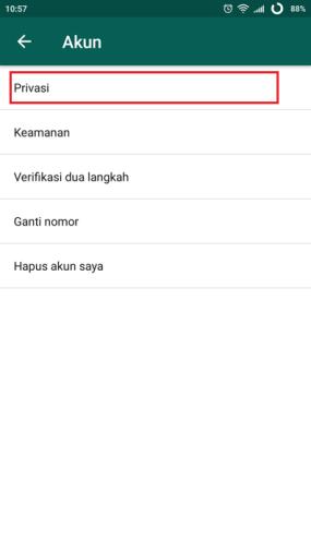 3 whatsapp akun