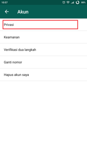 3 whatsapp akun