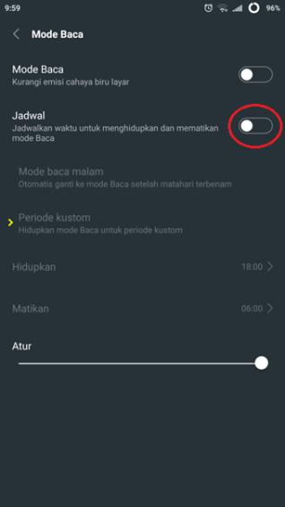 3 android reading mode