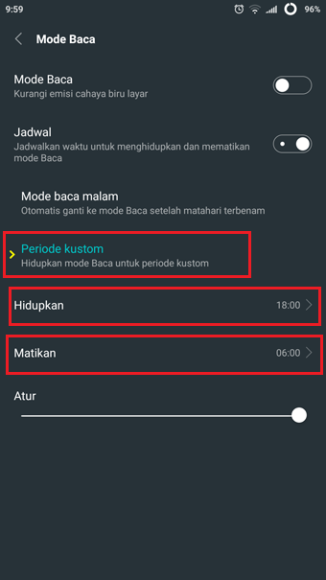 4 android reading mode