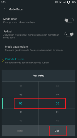 6 android reading mode