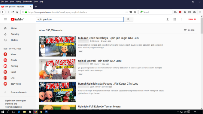 video palsu upin ipin