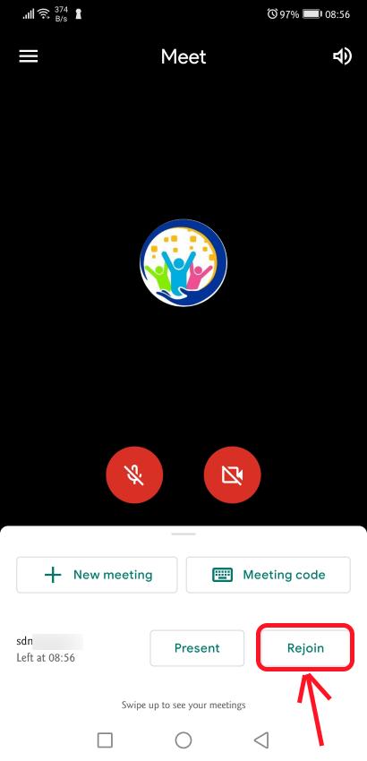 Tutorial Penggunaan Google Meet Pada Smartphone Android Smart Digital Parents
